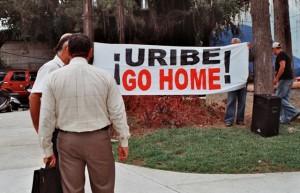 Uribe go home