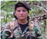 """alias katerine Muerto, alias Fabián, segundo cabecilla cuadrilla """"Alfonso Castellanos"""" de las Farc."""