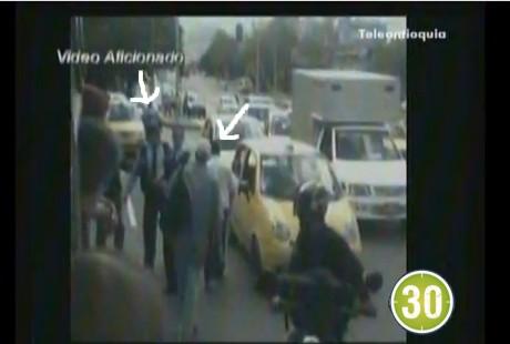 guarda1 Intolerancia vial: Guarda de tránsito y taxista se liaron a puños. Video