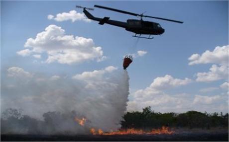 incendio forestal1 Efectos de 'El Niño' se verán a comienzos del próximo año, advirtió Santos