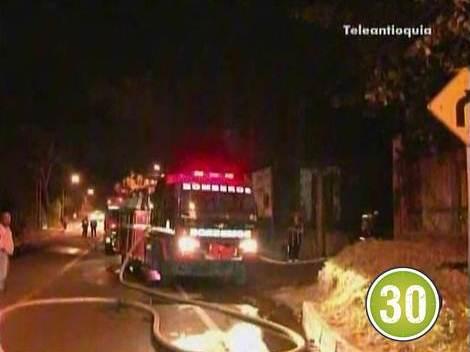 incendio inmunizadora Pérdidas por 400 millones dejó incendio de inmunizadora en Bello