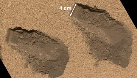 agua en marte e1354628410785 Curiosity habría realizado importante descubrimiento: Vida en Marte