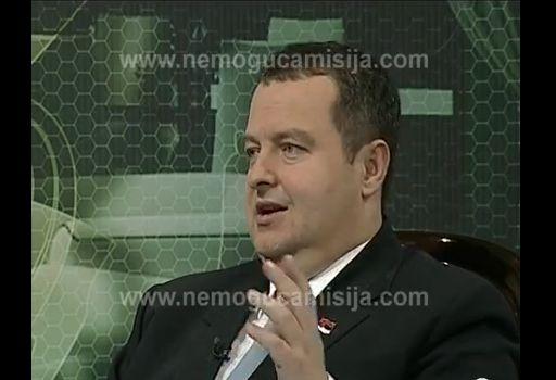 ivica toncev consejero de dacic para la seguridad nacional informo de