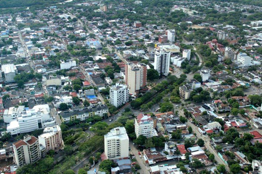 NEIVA HUILA COLOMBIA  DESDE EL AIRE