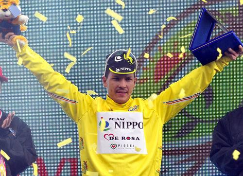 julián Arredondo campeón