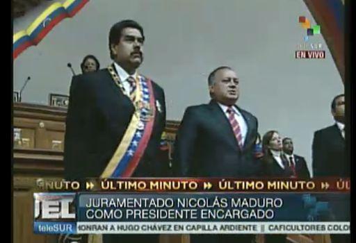 maduro1 Nicolás Maduro juramentó como Presidente de Venezuela: Apegado a la Constitución. Video