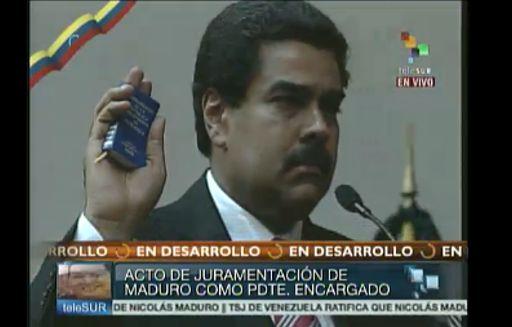 maduro2 Nicolás Maduro juramentó como Presidente de Venezuela: Apegado a la Constitución. Video