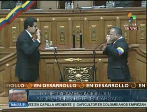 maduro3 Nicolás Maduro juramentó como Presidente de Venezuela: Apegado a la Constitución. Video