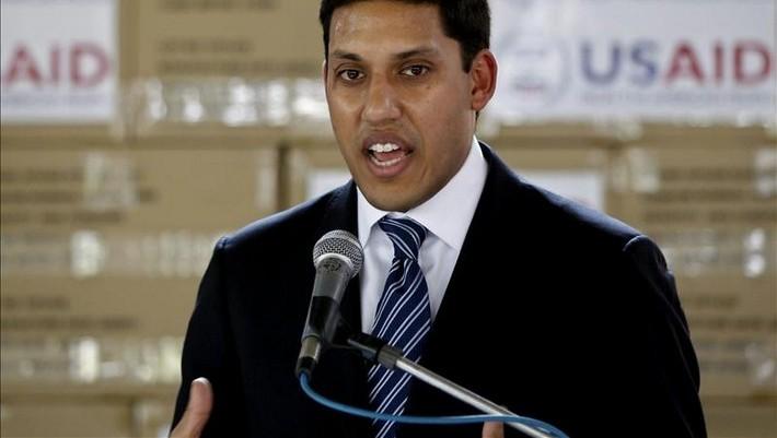 Imagen del director General de la Agencia de Estados Unidos para el Desarrollo Internacional (Usaid), Rajiv Shah. | EFE/Archivo