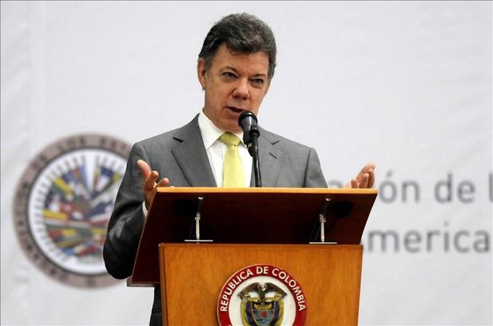 En la imagen, el presidente de Colombia, Juan Manuel Santos (i). EFE/Archivo