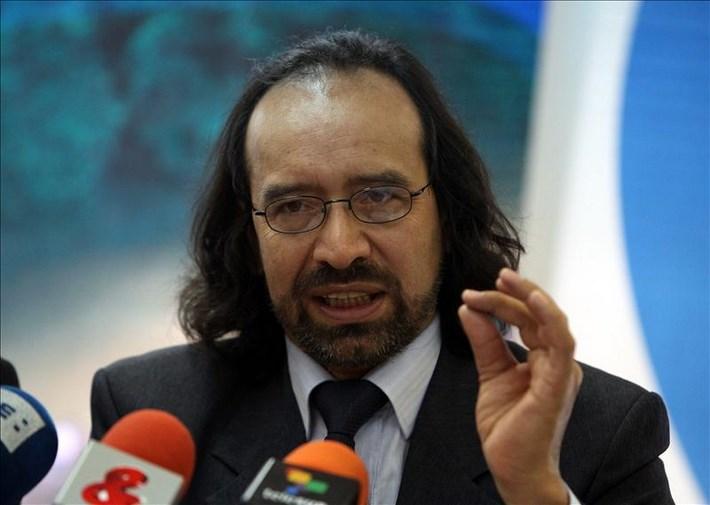 En la imagen, el director de la ONG Consultoría para los Derechos Humanos y el Desplazamiento (Codhes), Marcos Romero. EFE/Archivo