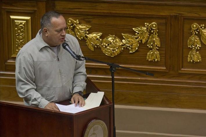 En la imagen, el presidente del Parlamento venezolano, Diosdado Cabello. EFE/Archivo