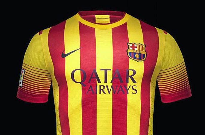La segunda equipación del Barcelona para la próxima temporada será la  senyera 7efd39331e4c2