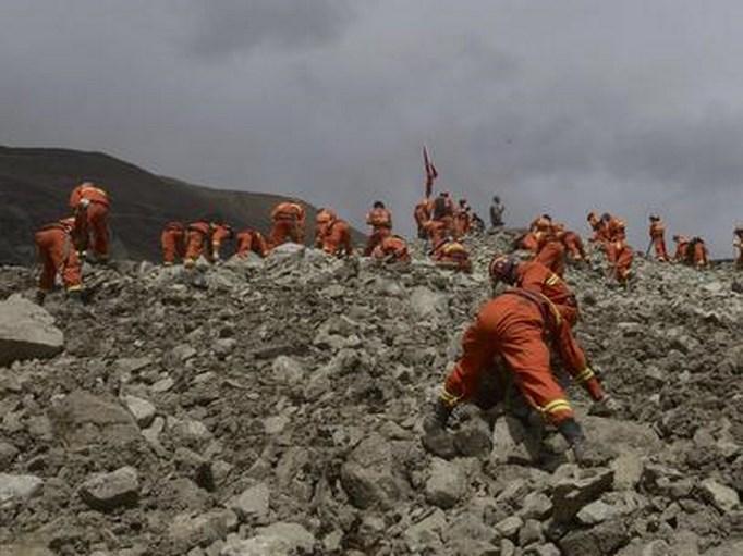 Murieron cinco mineros por un deslizamiento de tierra