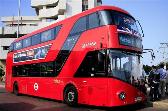Un autob s londinense promueve al reino unido en ciudades colombianas - Autobuses de dos pisos ...
