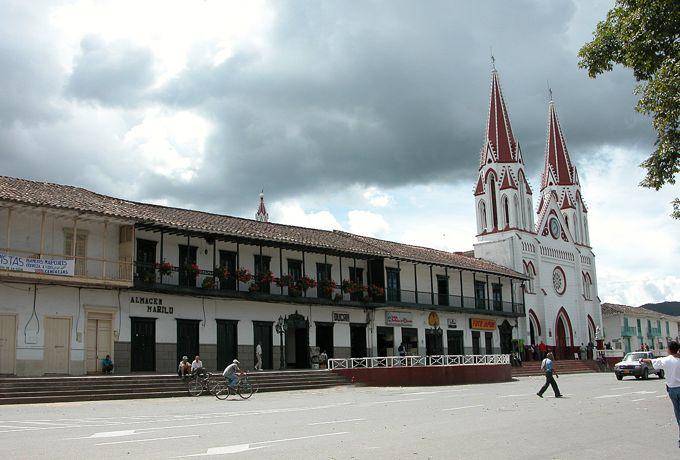 Parque principal de La Ceja, Antioquia