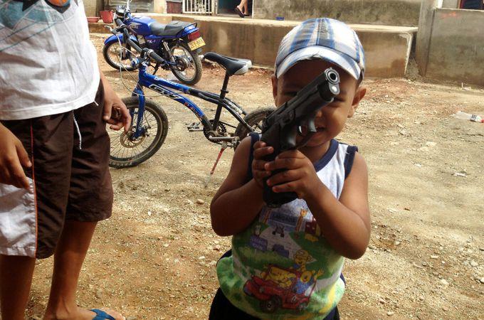 ladron1 Colombia vista desde la lente de un celular robado ¡Impactante! Fotos