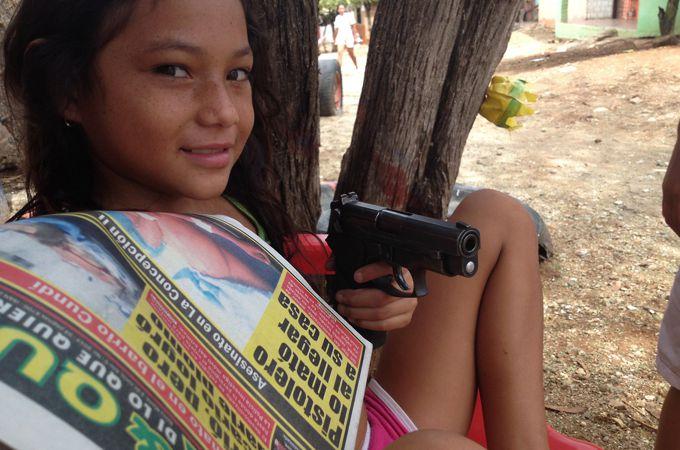 ladron3 Colombia vista desde la lente de un celular robado ¡Impactante! Fotos
