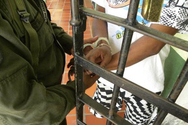 En el Romeral en Guarne capturaron a un maltratador por lesionar a su madre y a su hermana