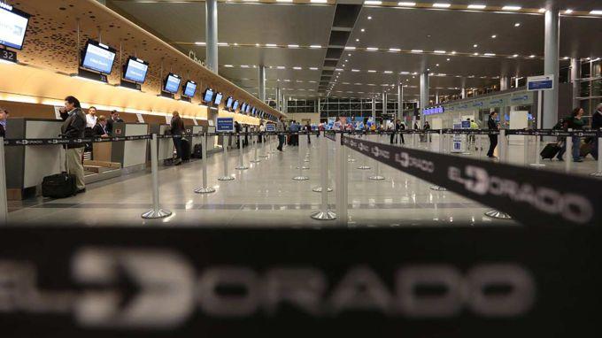 Aeropuerto El Dorado. Archivo.