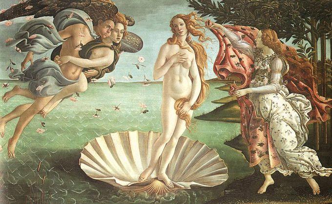 Hombre Se Desnuda En Una Galería De Arte Frente A La Venus De