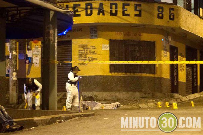 diamante3 Sicarios en moto lo asesinaron cerca de la cancha de Robledo El Diamante. Fotos