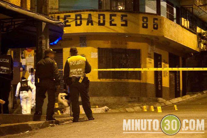 diamante6 Sicarios en moto lo asesinaron cerca de la cancha de Robledo El Diamante. Fotos