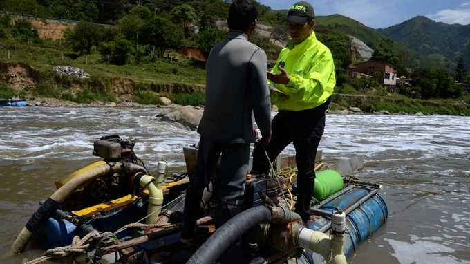 Operativos contra mineria ilegal app