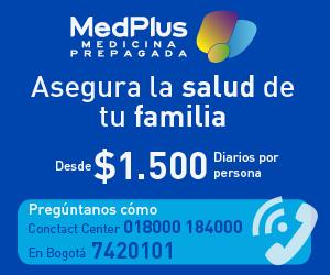 Banner medicina prepagada de Medplus barra lateral home