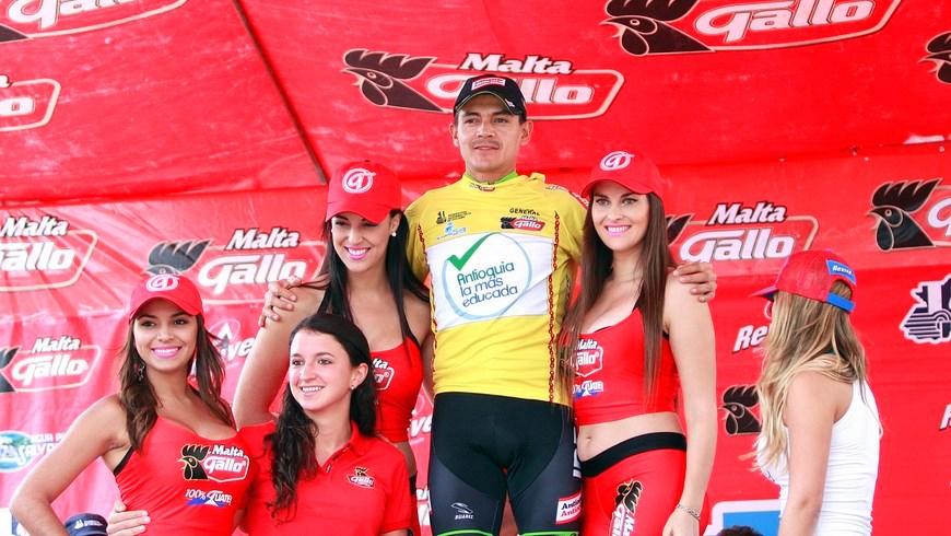 Alex Cano - líder Vuelta Guatemala - Foto Orgullo Antioqueño