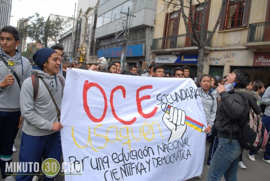 estudiantes protestas