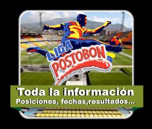 Fixture Liga Postobon II – 2014