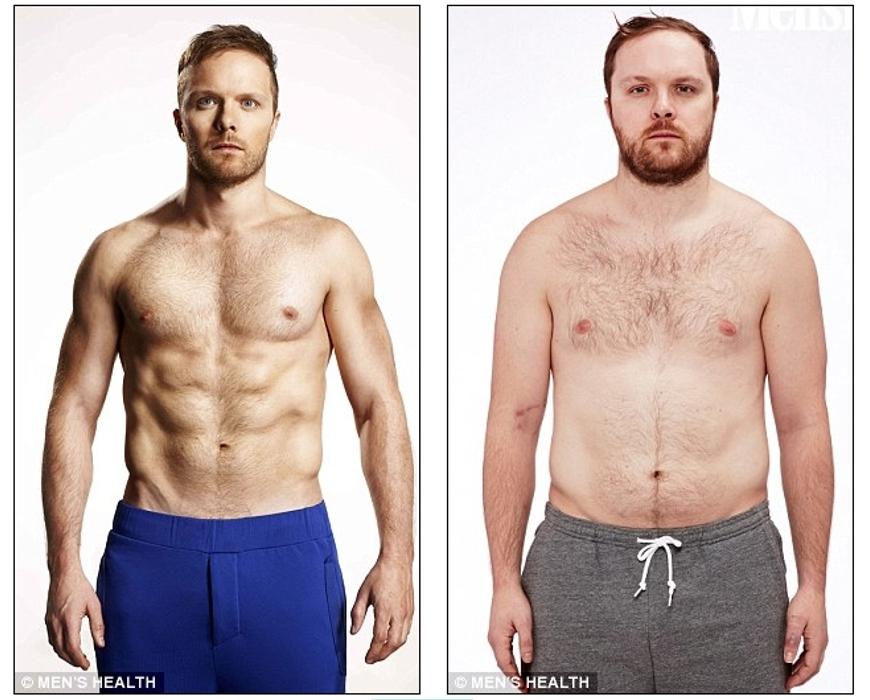 perder el 10 por ciento de su grasa corporal