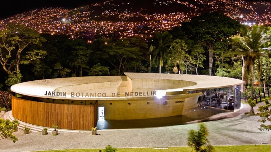 Jardin botanico for Bodas en el jardin botanico de medellin