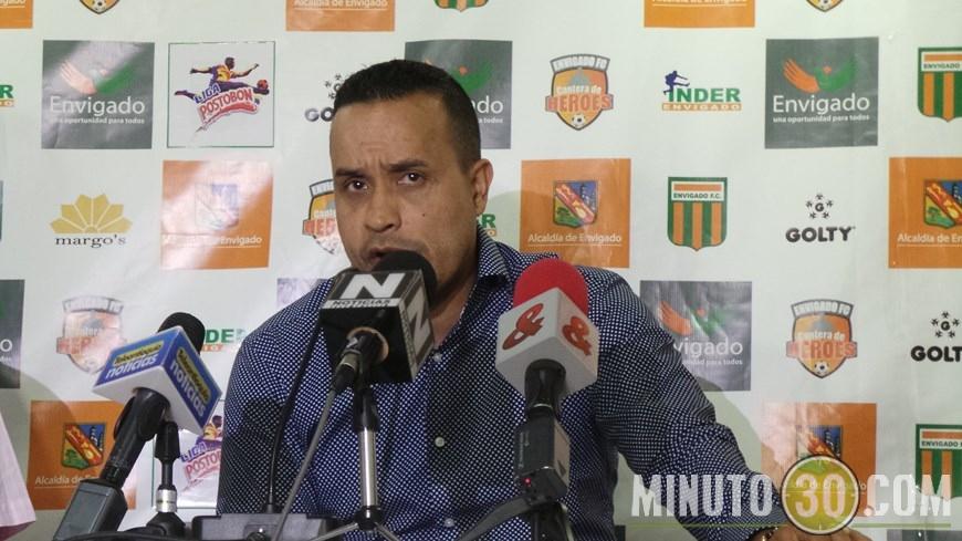 Ramiro Ruiz, presidente del Envigado F.C.