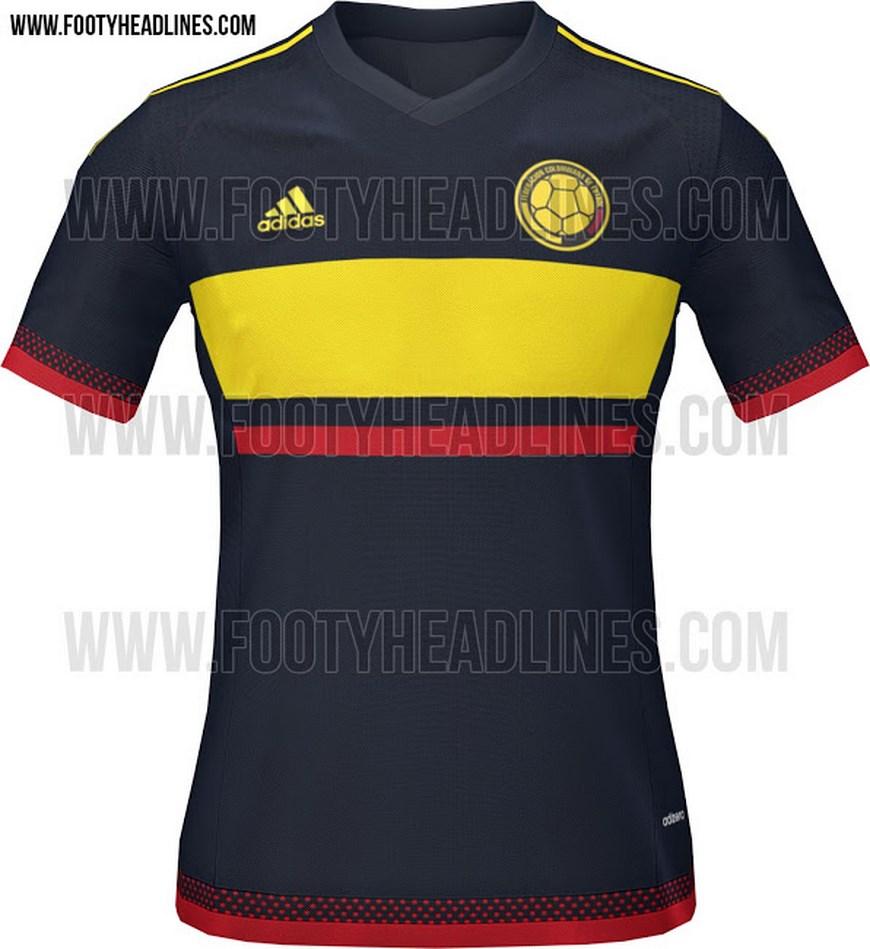 78987795c3 Camiseta de La Selección Colombia de Fútbol - Foto www.footyheadlines.com