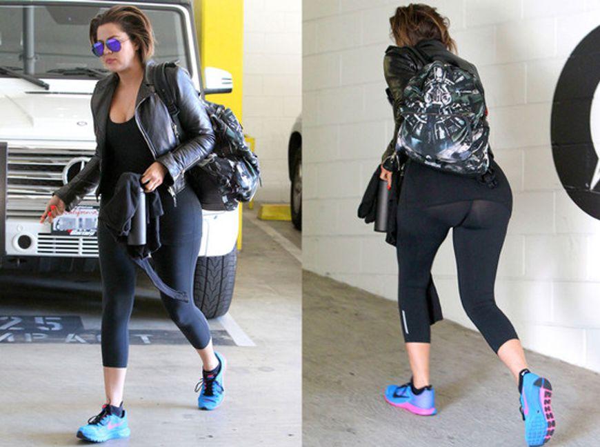 Viral En Redes 191 Khlo 233 Kardashian Hace Deporte Sin Ropa