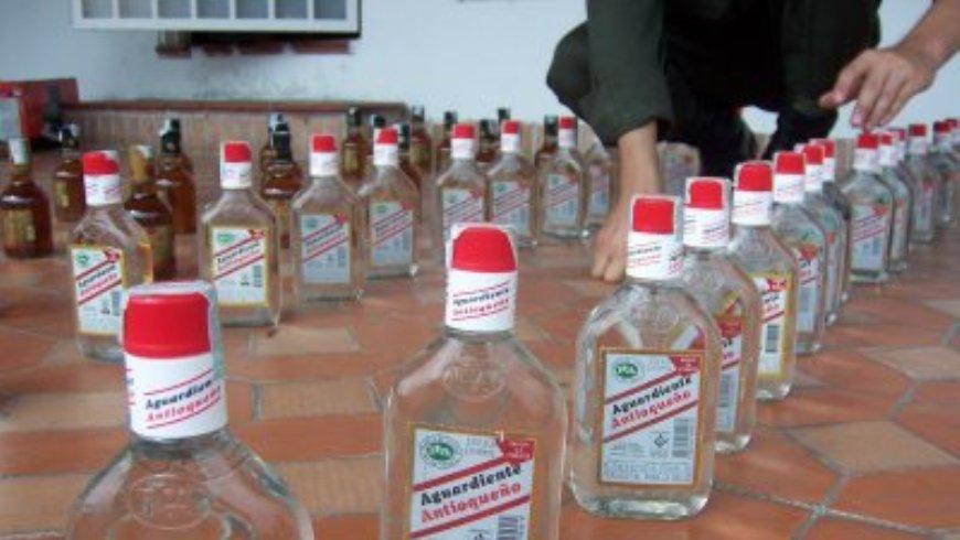 licor adulterado
