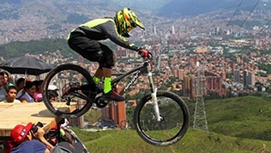 Foto Gustavo Tangarife INDER Medellín.