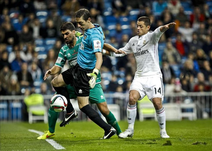Real Madrid goleó - Foto EFE