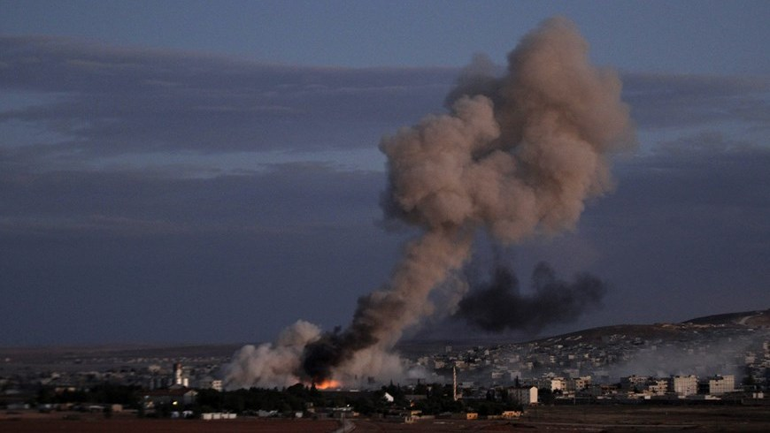 Bombardeos en Siria e Irak