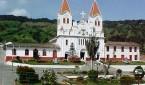 Vista del municipio de San josé de la Montaña. Norte de Antioquia.