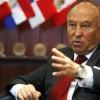 El presidente del CAF, Banco de Desarrollo de América Latina, Enrique García