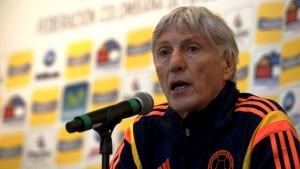 El técnico de la selección Colombia, José Pekerman.