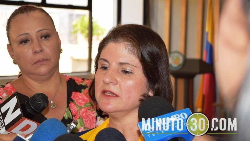 La directora del Dapard, María Inés Cardona