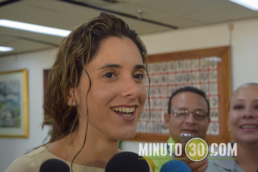 La Directora de la Agencia Nacional de Minería, Natalia Gutiérrez