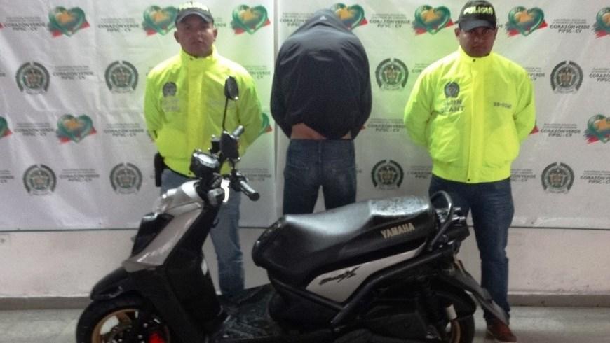 CAPTURA Y RECUPERACION MOTO EN RIONEGRO APP