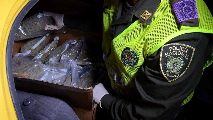 Capturados en El Poblado. Foto: Policía Metropolitana