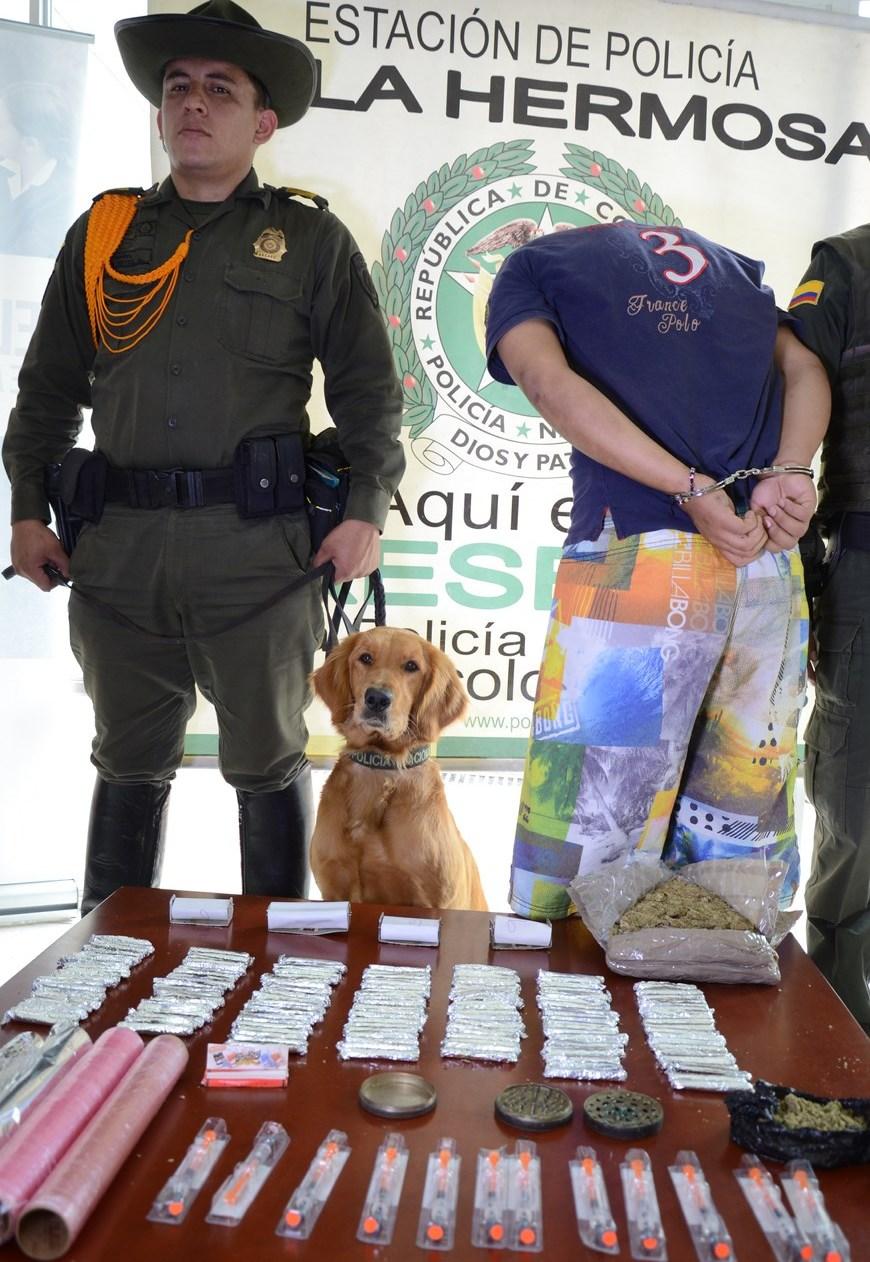 Capturado en La Mansión. Foto: Policía Metropolitana
