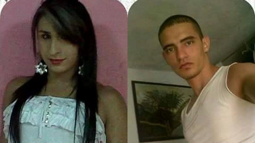 Juliana Andrea de Henao Pérez y su novio Foto: Cortesía